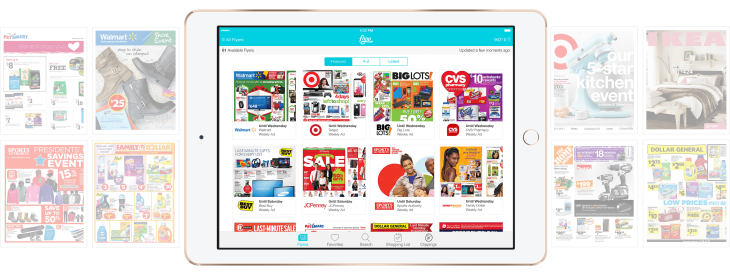 flipp s new app turns store flyers into shopping lists helps
