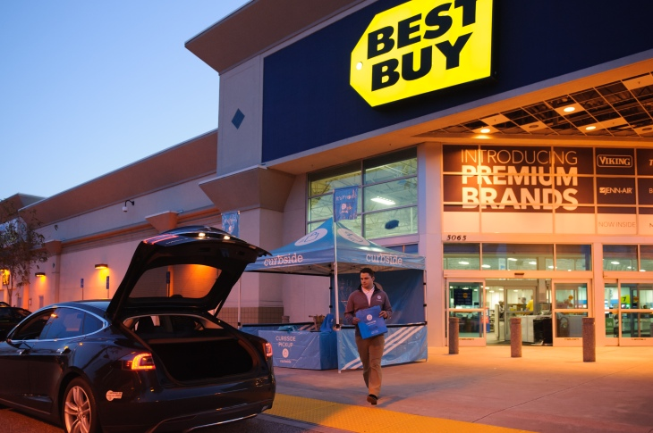 Resultado de imagen para pickup best buy curbside