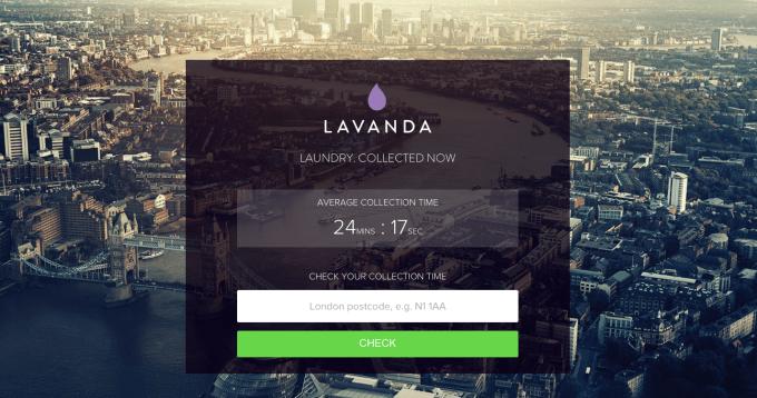 Lavanda home page