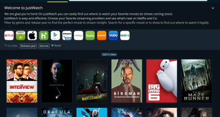 JustWatch Debuts A New Search Engine For Cord Cutters