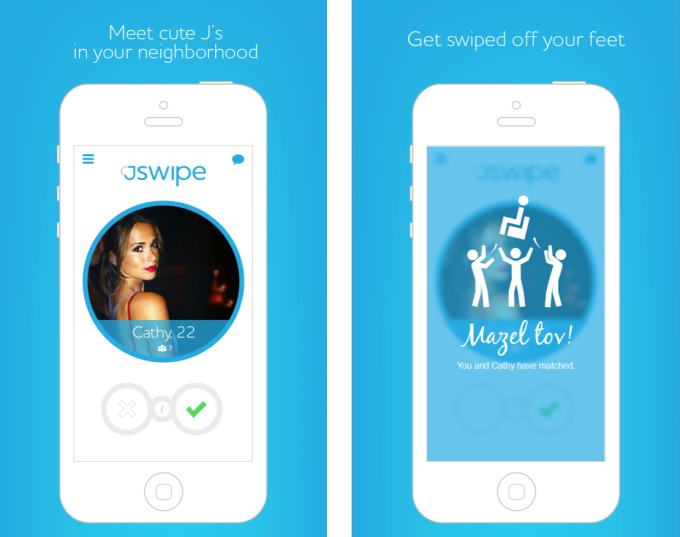 JSwipe, a dating app just Jewish people