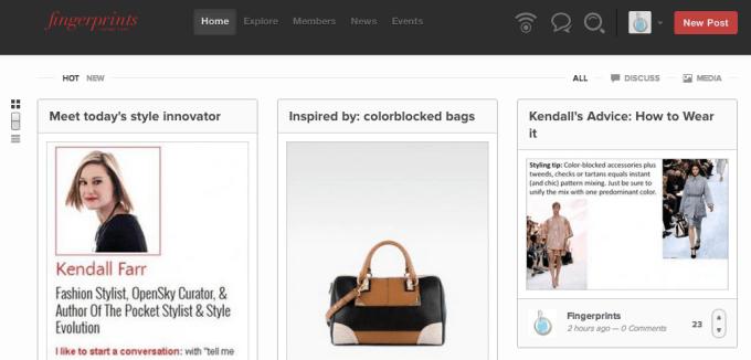 """Backplane's """"Fingerprints"""" network for Condé Nast"""