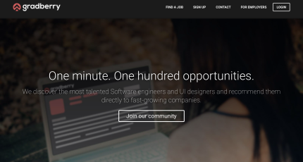YC Backed Gradberry Curates Technical Talent   TechCrunch