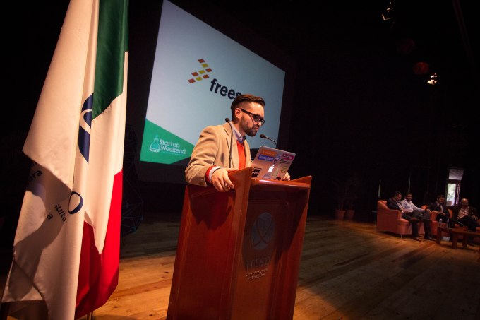 Gustavo Moreno of UP Global (parent company of Startup Weekend), which hosts over 50 events annually in Mexico.