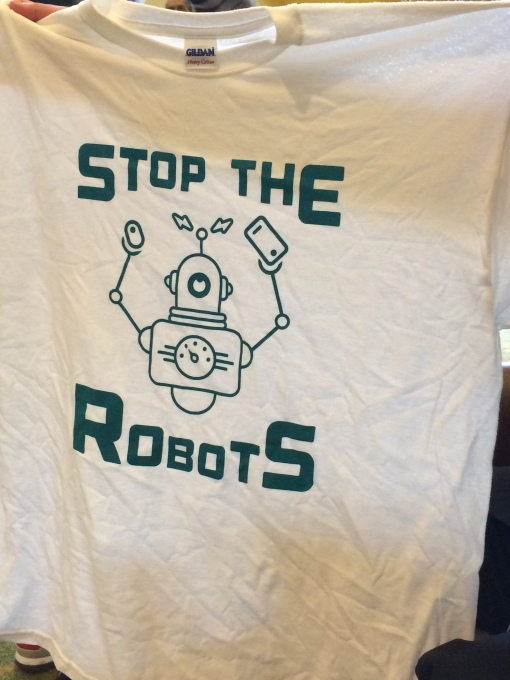 Stop The Robots Tshirt