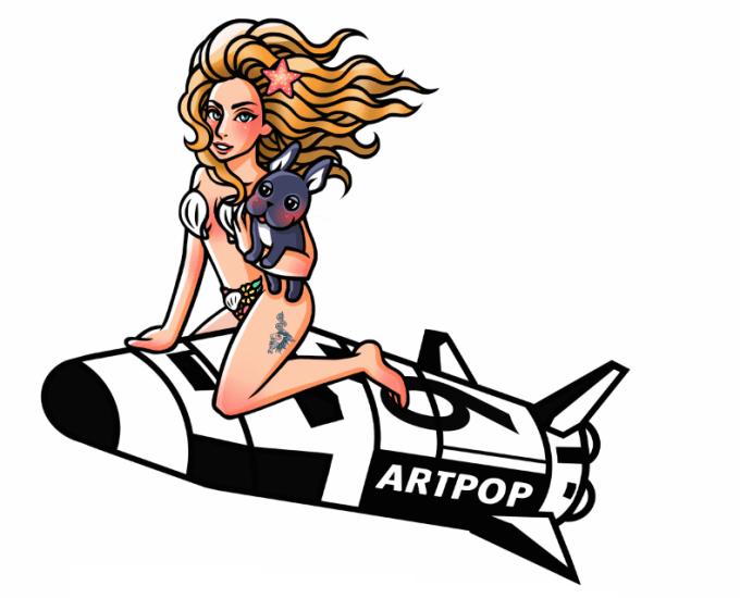 LadyGaga Art Pop Shuttle