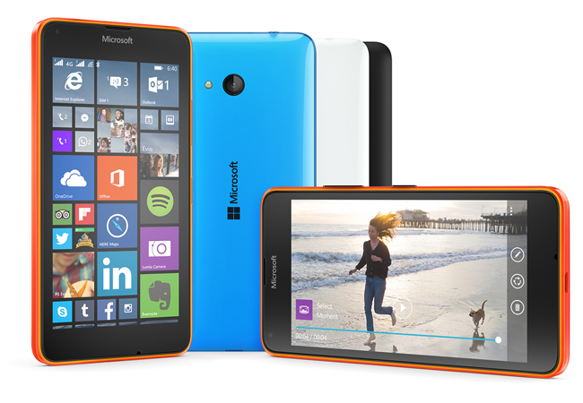 62c230d0822 Microsoft has officially taken the wraps off two new Lumia smartphones  the  640 and 640 XL. Details of the pair of low-end phones leaked yesterday in  ...