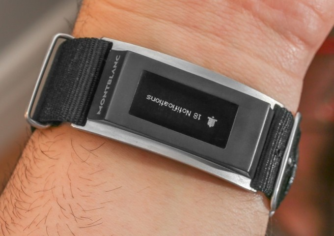 c05e184fa8f Here s A Closer Look At The Montblanc Smart Band For Fancy Watches ...