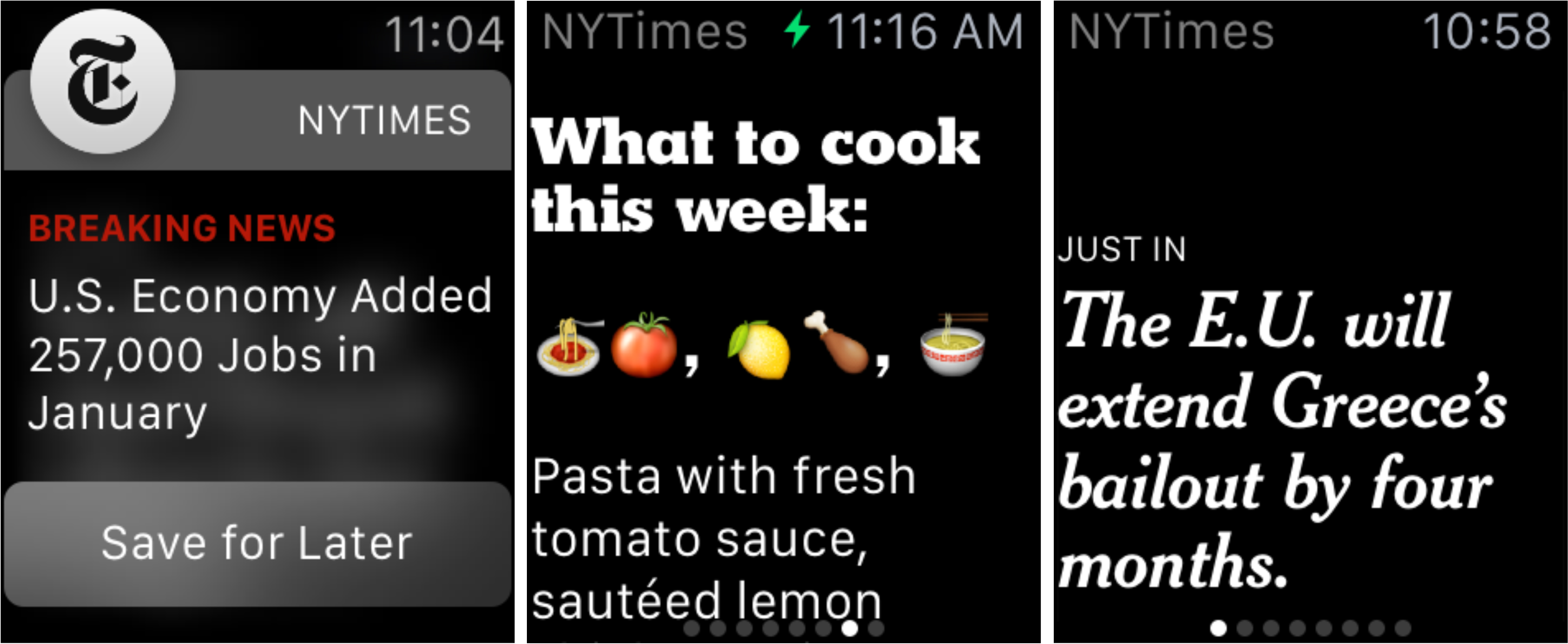 New York Times Will Deliver One Sentence News Stories To Apple