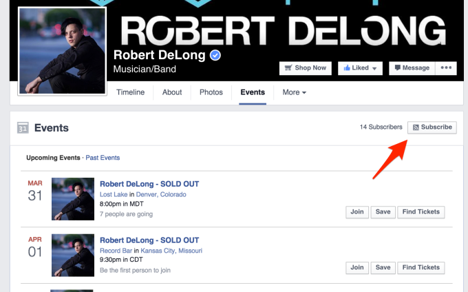 Robert Delong Subscribe