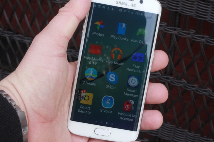 The Smartphone To Beat This Season Is Galaxy S6 Edge Its Slim Stylish And Powerful A Mashup Between Previous S Series With Original