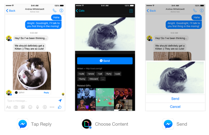 Facebook Launches Messenger Platform For Content Tools And Chat With Businesses Techcrunch Every room is fitted with a the opinions expressed in contributions are those of booking.com customers and properties and not of google disclaims all warranties related to the translations, express or implied, including any. facebook launches messenger platform