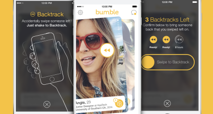 Bumble's New Backtrack Feature Lets You Take Back Accidental