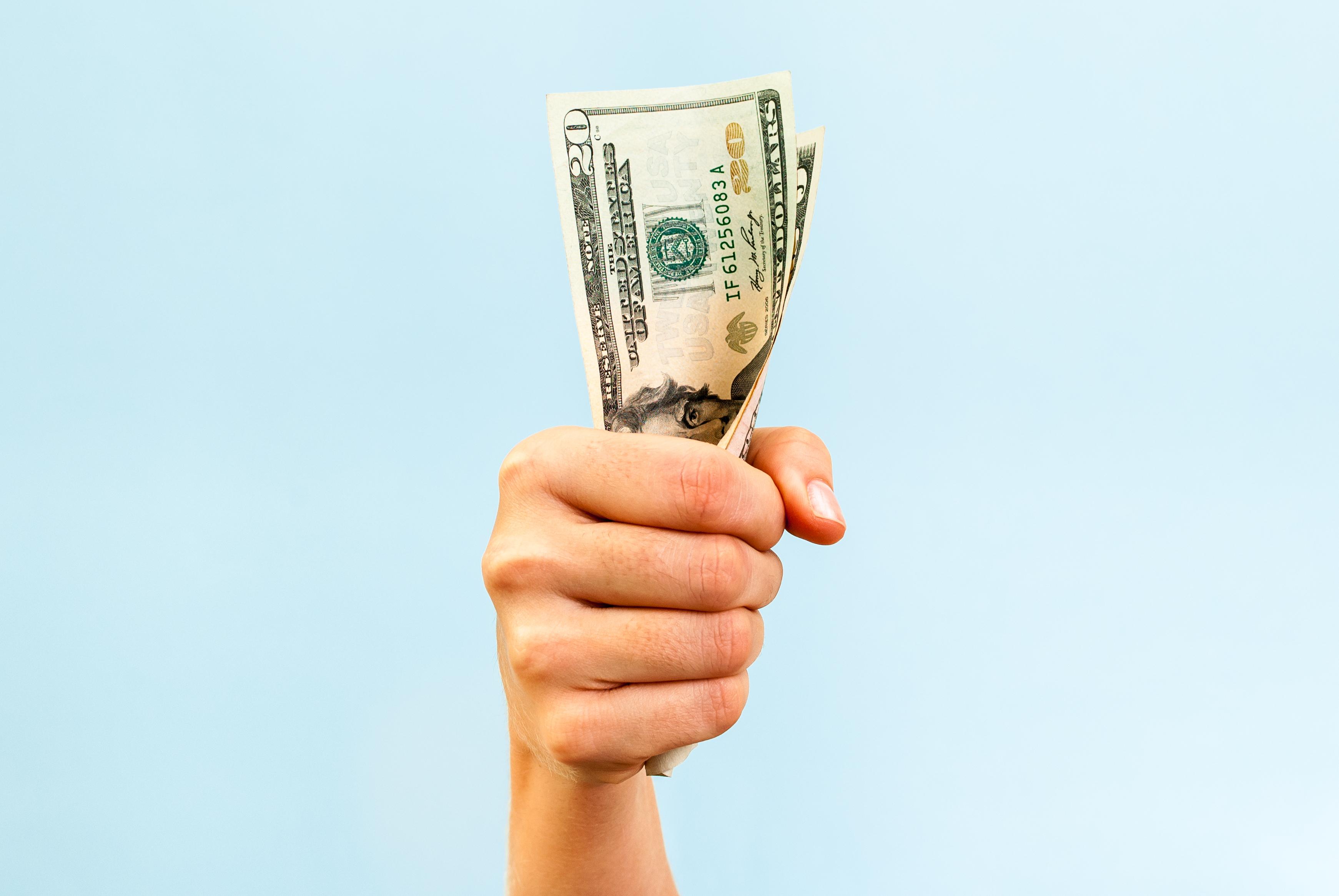 YOU DON'T HAVE A MONEY PROBLEM, YOU HAVE AN IDEA/ RELATIONAL PROBLEM