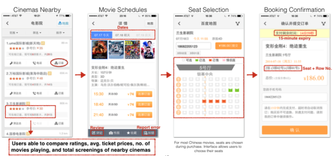 China's WeChat offers commerce experiences in its app. Via Benedict Evans