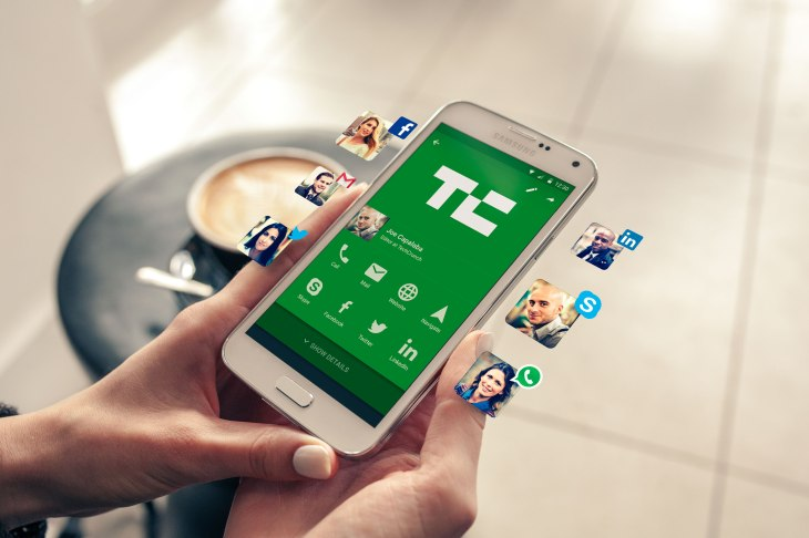 Haystacks new app wants to be your digital business card techcrunch techcrunch 8211 card view reheart Image collections