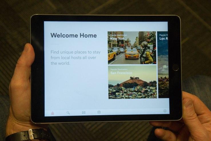 airbnb ipad 2