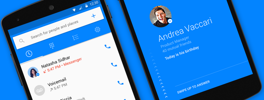 "Hello"" Is Facebook's New Android-Only Social Caller ID App 
