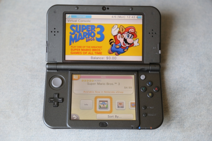 New Nintendo 3DS Virtual Console
