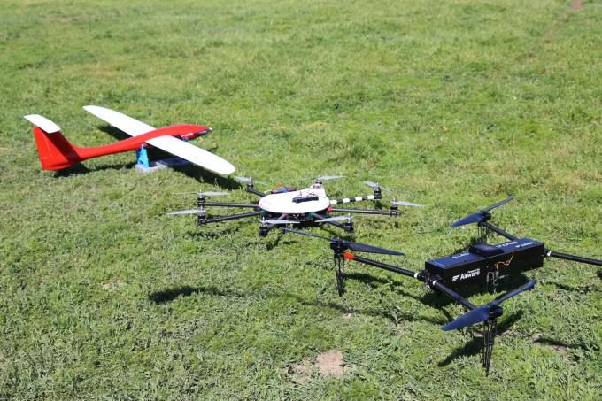 Airware demo drones