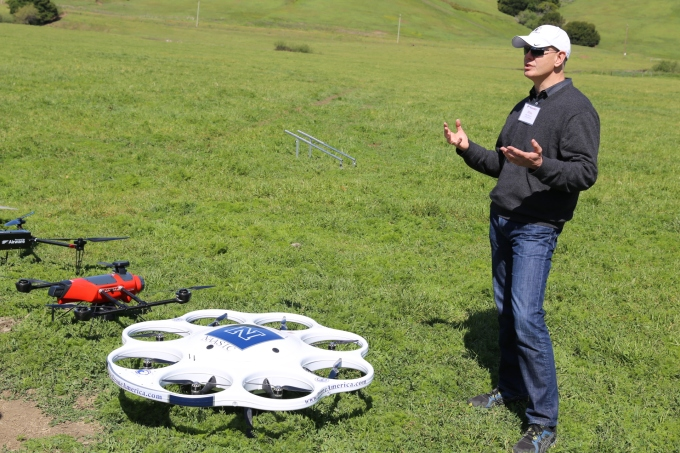 Drone America CEO Mike Richards