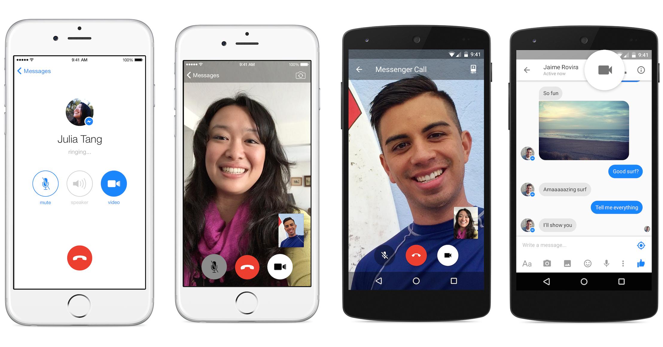 Do messenger calls show on phone bill