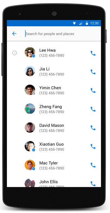 "Hello"" Is Facebook's New Android-Only Social Caller ID App"