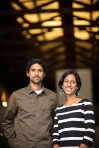 Rickshaw founders Divya Bhat and Gautam Jayaraman