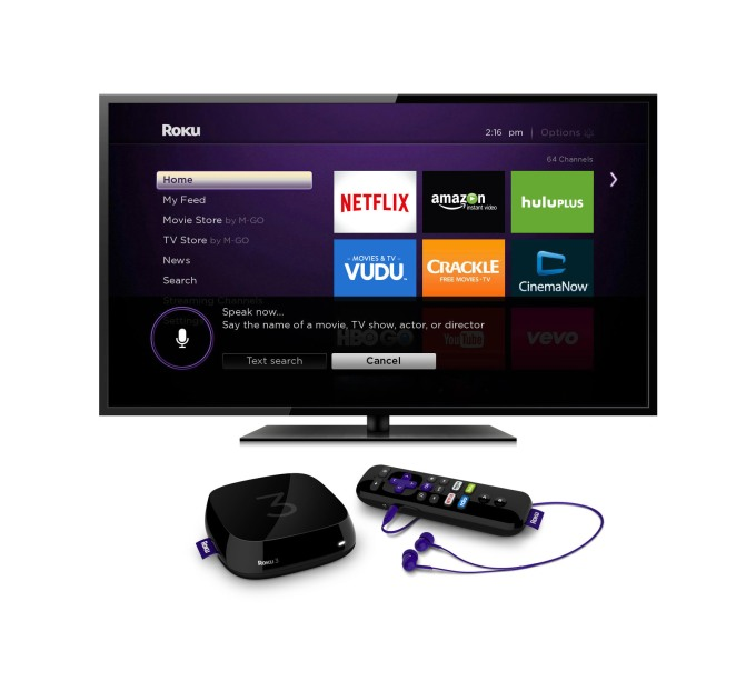 Roku 3 Voice Search