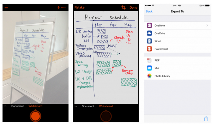Microsoft Debuts Office Lens, A Document-Scanning App For