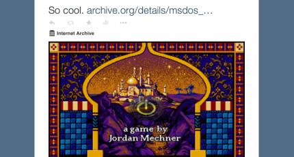 Go Ahead, Play Prince Of Persia In This Tweet   TechCrunch