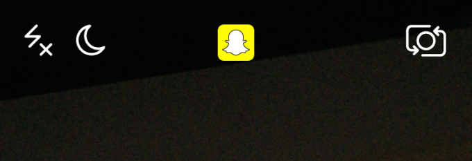 Snapchat Low Light Camera Moon