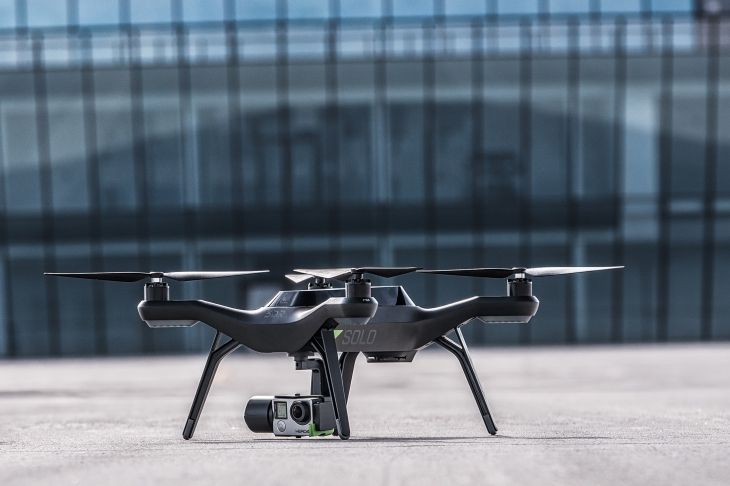 3d Robotics New Solo Drone Promises To Make Aerial Videography Easy