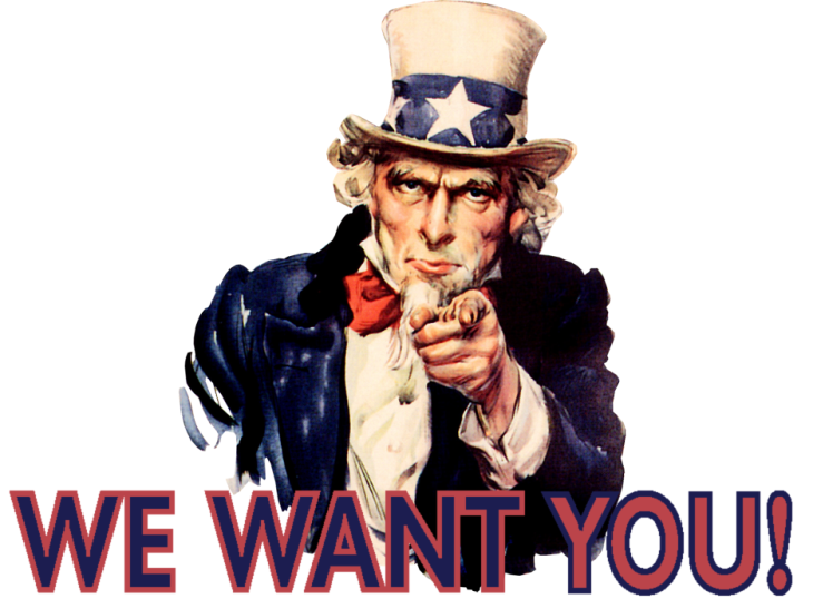 Image result for uncle sam wants you to get involved