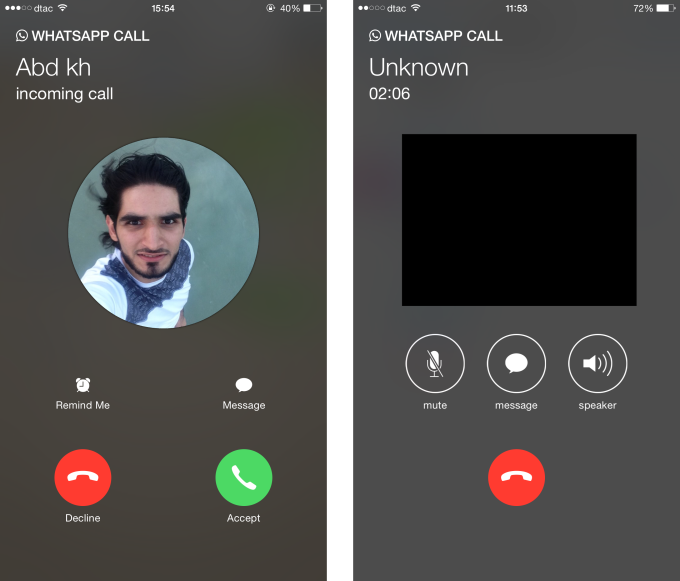 whatsapp calling 2