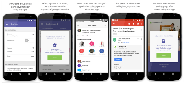 Google debuts app invites a more personalized system for inviting app invites urbansitter final stopboris Image collections