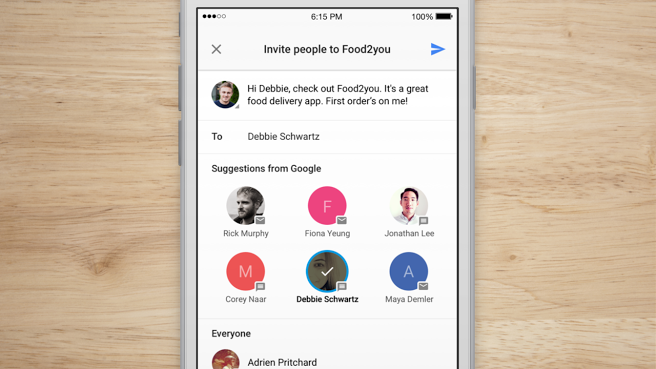 Google Debuts App Invites, A More Personalized System For Inviting