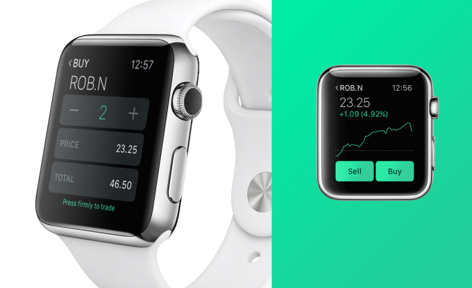 AppleWatch Robinhood