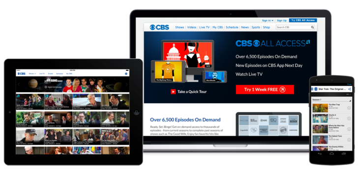 Cbs S Video Streaming Service Now Offers Live Tv In Over 60 Of The