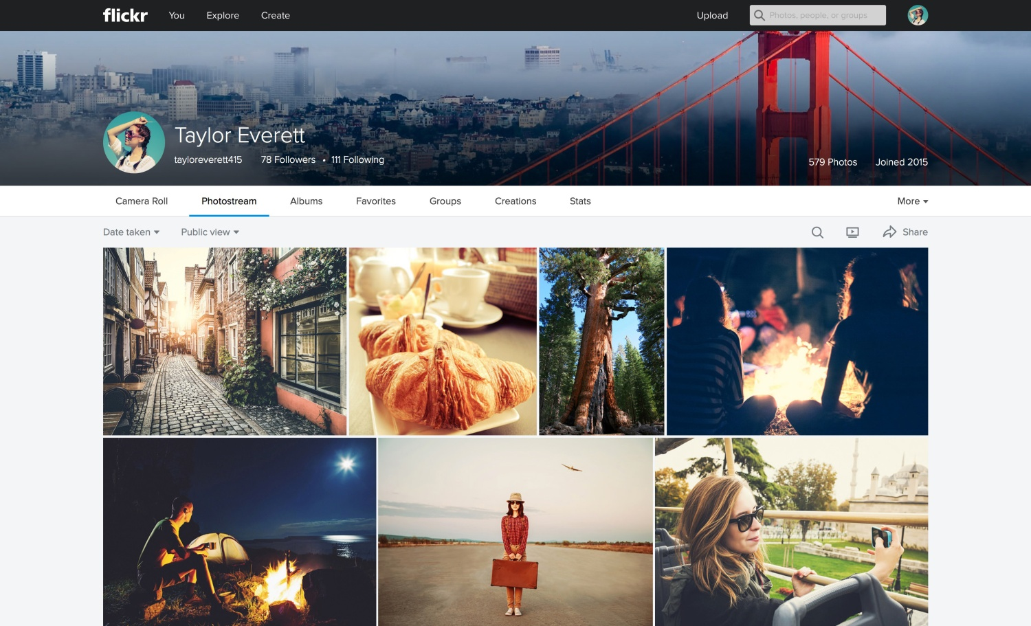 how to download flickr photostream