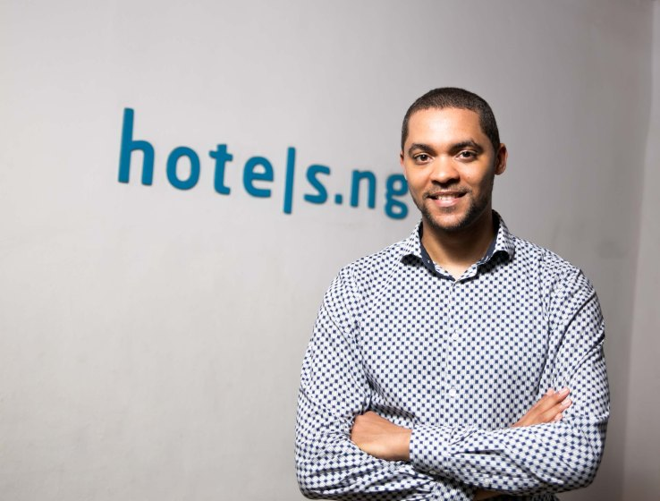 Hotels.ng founder Mark Essien