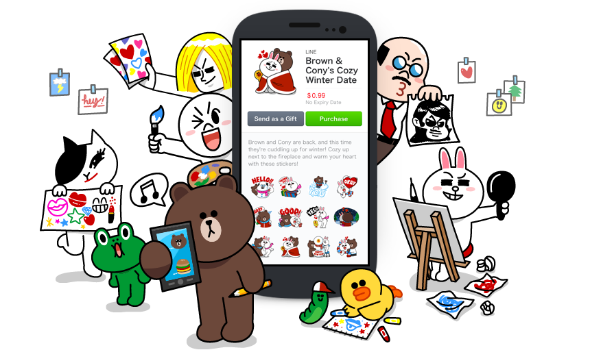 Understanding Line, the chat app behind 2016's largest tech IPO