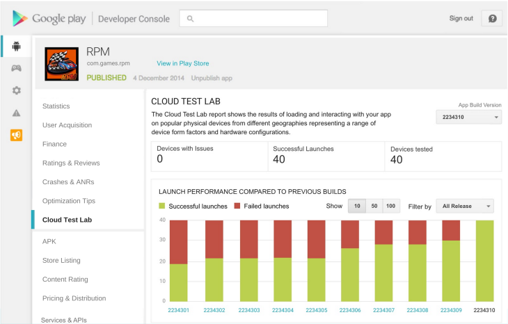 Google's New Cloud Test Lab Lets Android Developers Quickly