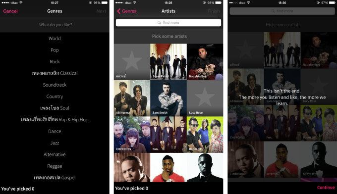 pick songs mixradio
