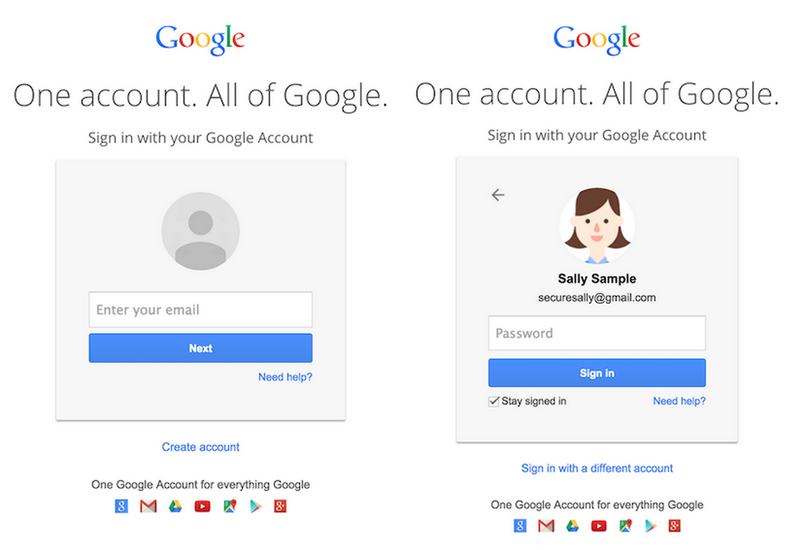 Gmail's New Login Screens Hints At A Future Beyond Passwords ...
