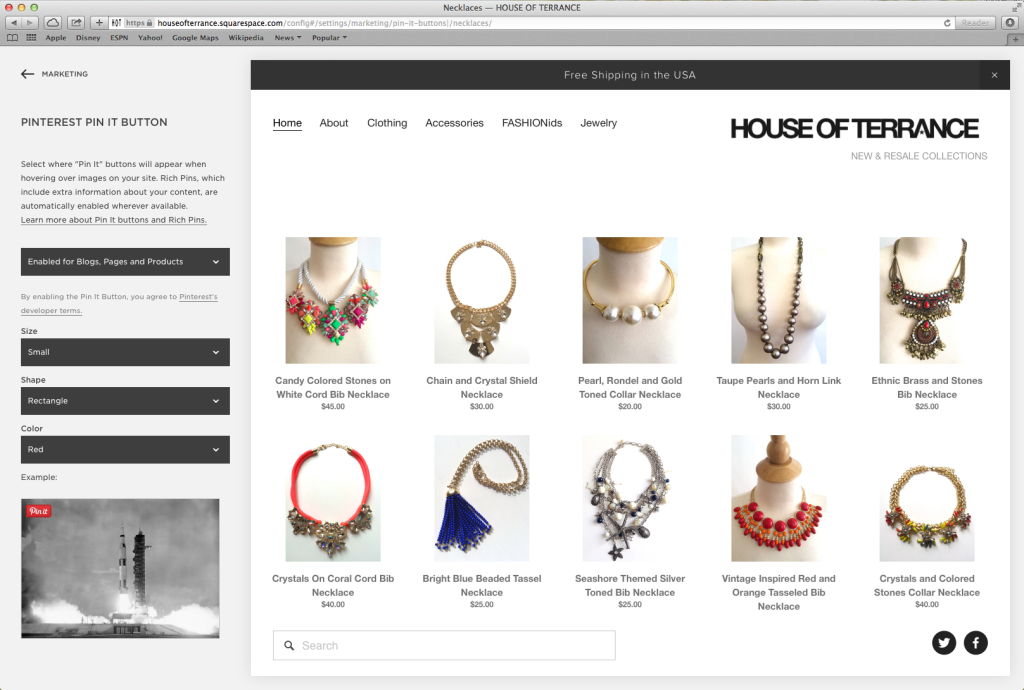 Pinterest Adds A Few Tools To Integrate More Easily With Squarespace Techcrunch
