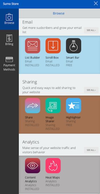 sumome app store