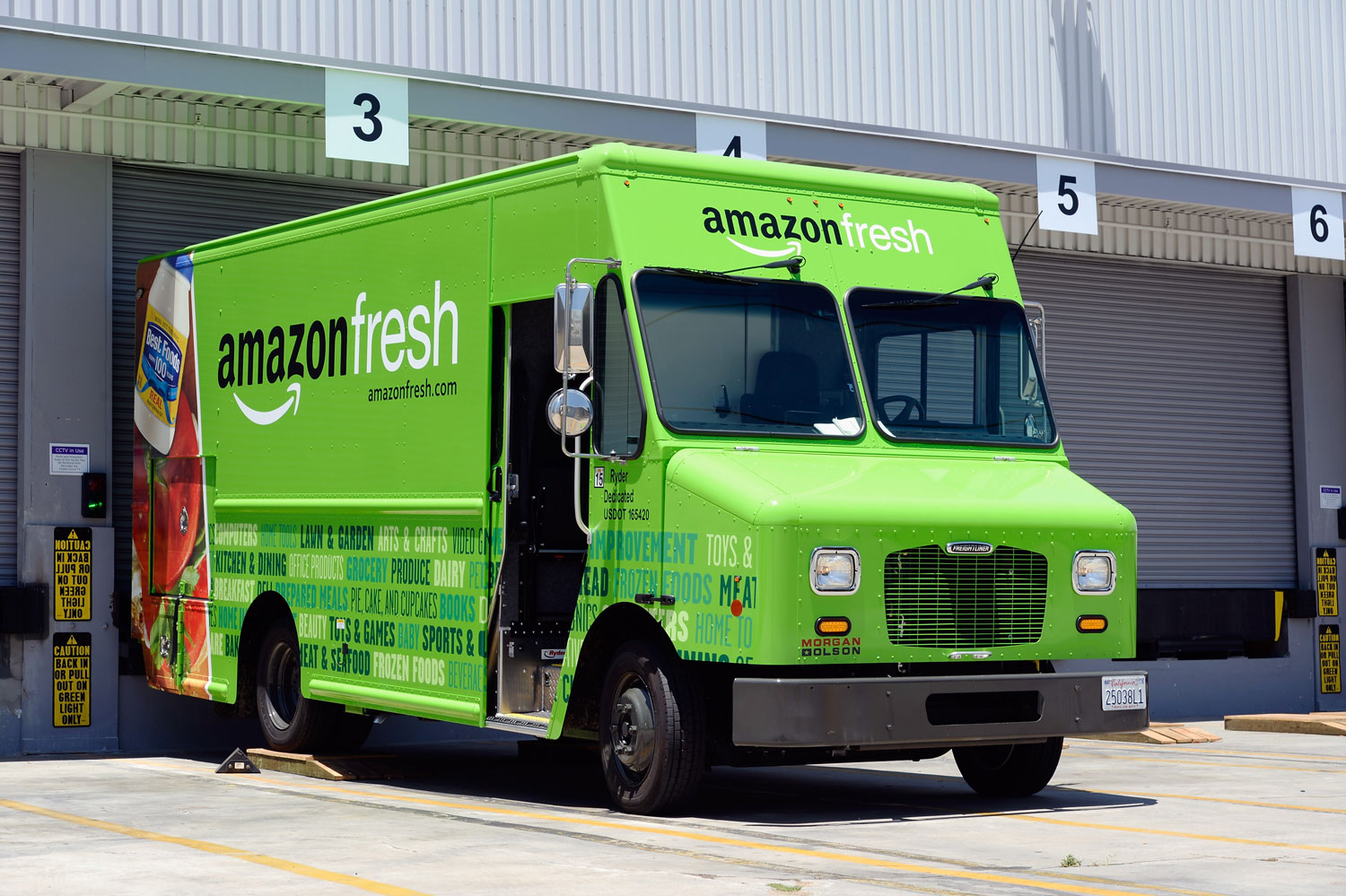Amazon S Online Grocery Delivery Service Hits Dallas