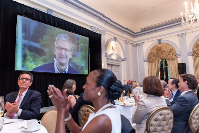 Apple's Tim Cook Delivers Blistering Speech On Encryption