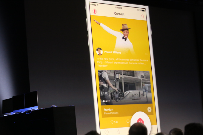 43 Apple Music Connect